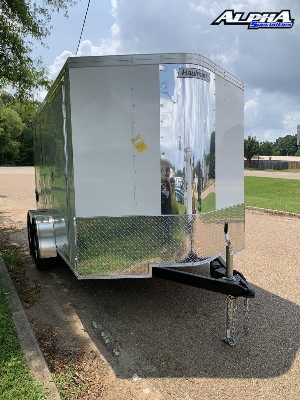 2021 Haulmark 7 X 12 Enclosed Cargo Trailer