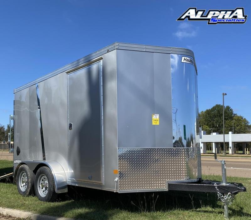 2021 Haulmark 7' x 12' Transport V-Nose Tandem Axle Enclosed / Cargo Trailer 7K GVWR