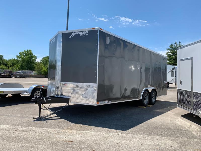2021 Homesteader Trailers INTREPID 8.5 X 20 FT ENCLOSED CAR HAULER