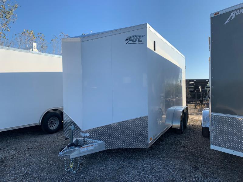 2022 ATC RAVEN 7 X 16 FT CARGO TRAILER WITH BARN DOORS
