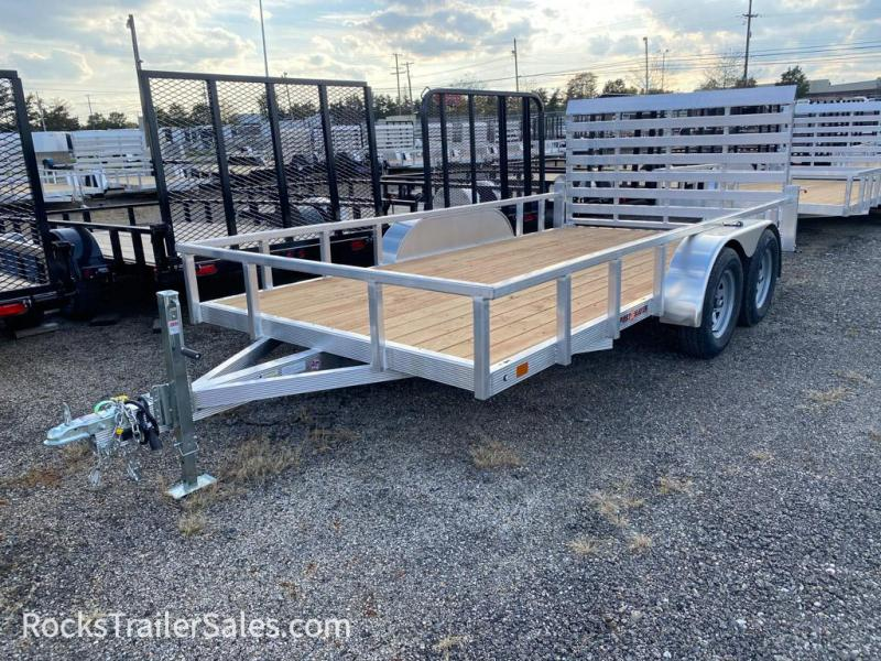 2022 Sport Haven ALUMINUM WITH WOOD DECK 7 X 16 FT UTILITY TRAILER