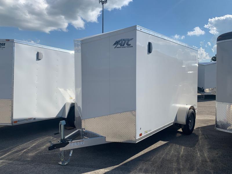 2022 ATC RAVEN 6 X 12 FT ENCLOSED CARGO TRAILER