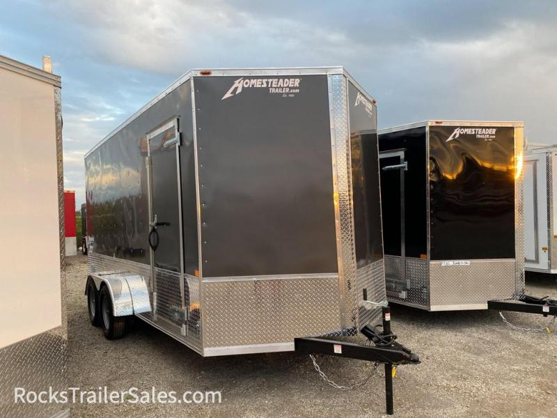 2021 Homesteader Trailers INTREPID 7 X 16 FT ENCLOSED CARGO OHV PACKAGE