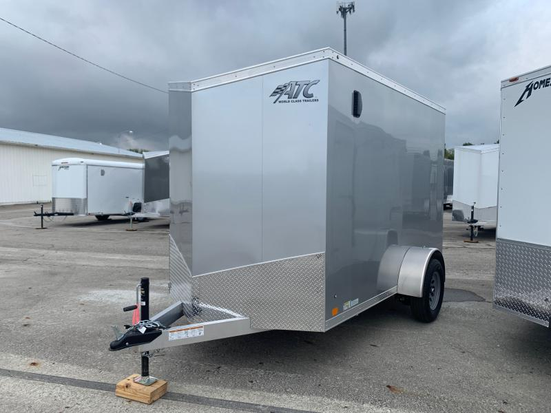 2022 ATC RAVEN 6 X 10 FT ENCLOSED CARGO TRAILER