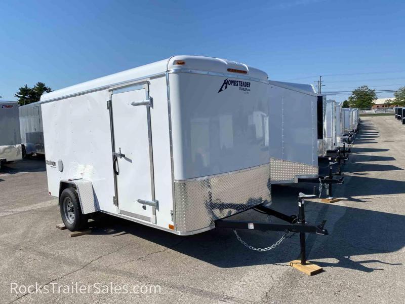 2022 Homesteader Trailers CHALLENGER 6 X 12 FT ENCLOSED CARGO TRAILER