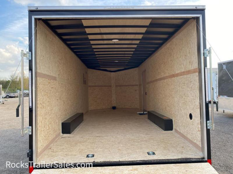 2022 Pace American 24 FT JOURNEY  ENCLOSED CAR HAULER WITH RAMP DOOR