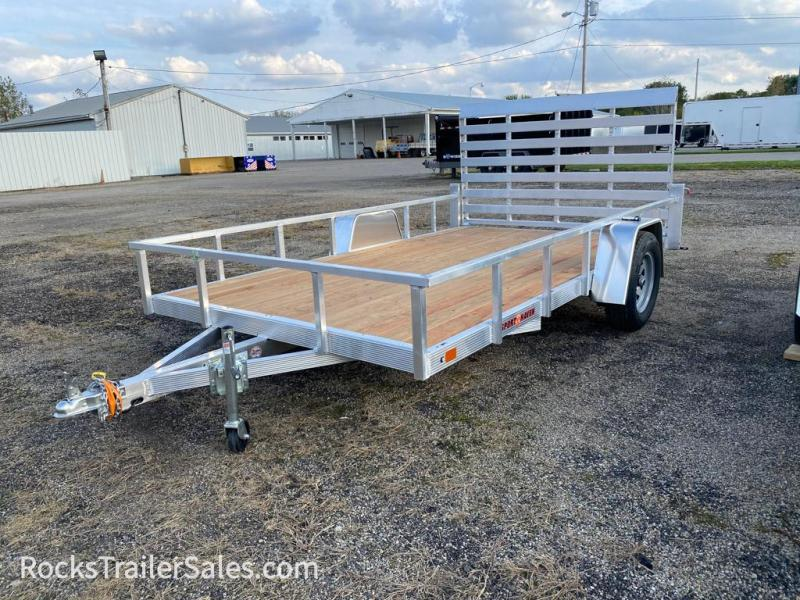 2022 Sport Haven ALUMINUM WITH WOOD DECK 7 X 12 FT UTILITY TRAILER
