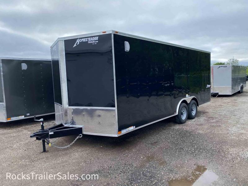 2021 Homesteader Trailers INTREPID 8.5 X 20 FT ENCLOSED CARGO