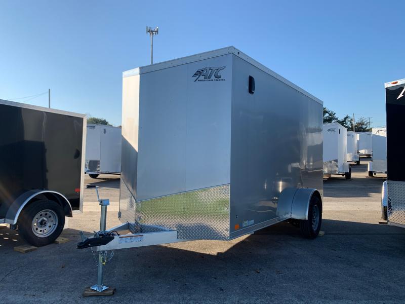 2022 ATC RAVEN 6 X 12 FT CARGO TRAILER