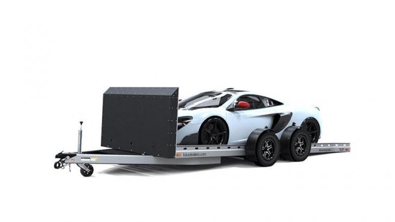"""2021 Futura Trailers 16.5"""" FT Super Sport Lowering Car Trailer Car / Racing Trailer"""