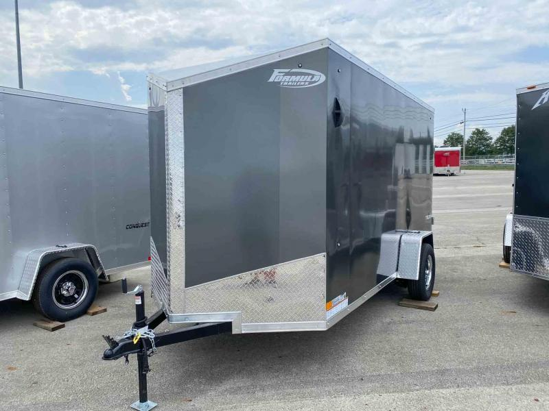 2022 Formula Trailers TRIUMPH 6 X 12 FT ENCLOSED WITH RAMP DOOR