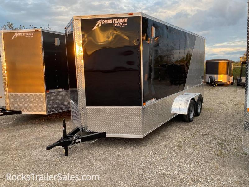 2022 Homesteader Trailers INTREPID OHV TWO TONE 7 X 16 FT ENCLOSED CARGO TRAILER