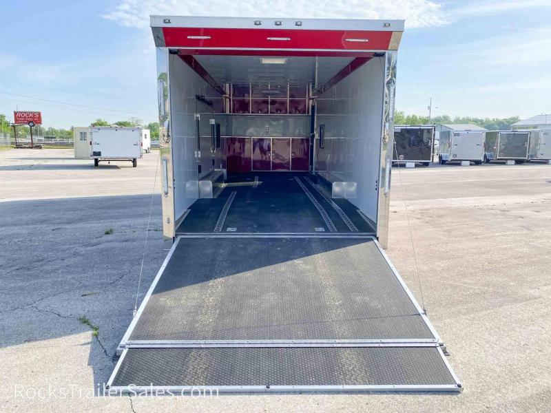 2019 ATC USED QUEST 28 FT CAR HAULER