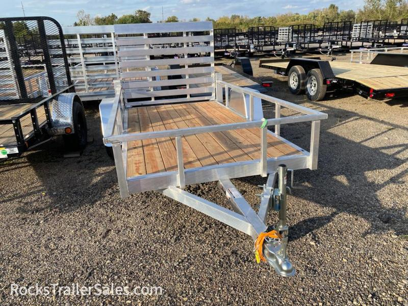 2022 Sport Haven ALUMINUM WITH WOOD DECK 5 X 10 FT UTILITY TRAILER
