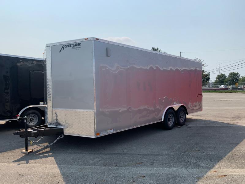 2021 Homesteader Trailers 20 FT ENCLOSED CAR HAULER