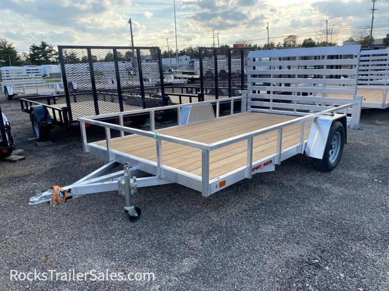 2022 Sport Haven ALUMINUM WITH WOOD DECK 7 X 14 FT UTILITY TRAILER
