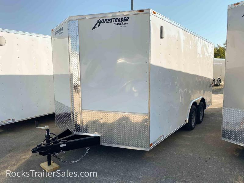 2021 Homesteader Trailers INTREPID 8.5 X 16 FT ENCLOSED CARGO TRAILER