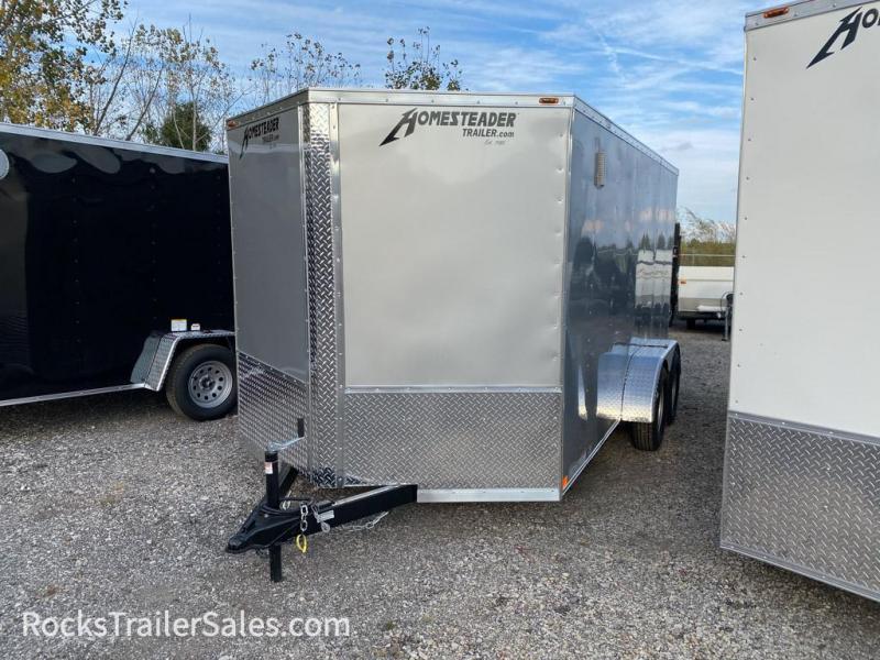 2021 Homesteader Trailers INTREPID 7 X 14 FT STANDARD CARGO TRAILER