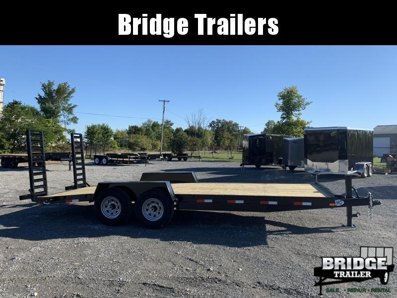 """2022 AMO A1420CE - 20' 14000 lb (82"""" X 20') Equipment Trailer"""