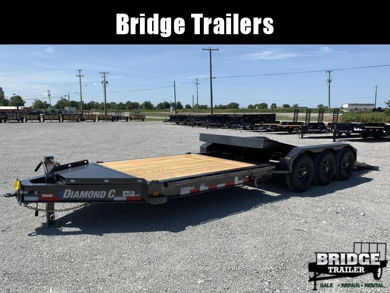 "2021 Diamond C Trailers HDT307L24X82 (82"" X 24') Equipment Trailer"