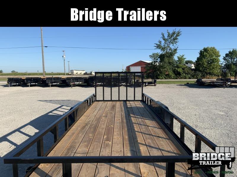 """2022 Big Tex Trailers 70PI-20X (83"""" X 20') Utility Trailer"""