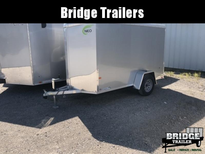 2018 NEO Trailers NAV105SR12 Round Top Cargo Enclosed Cargo Trailer