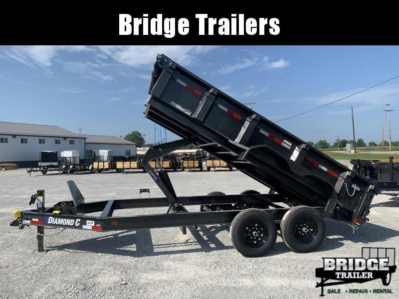 "2021 Diamond C Trailers LPD207L14X82 (82"" X 14') Dump Trailer"