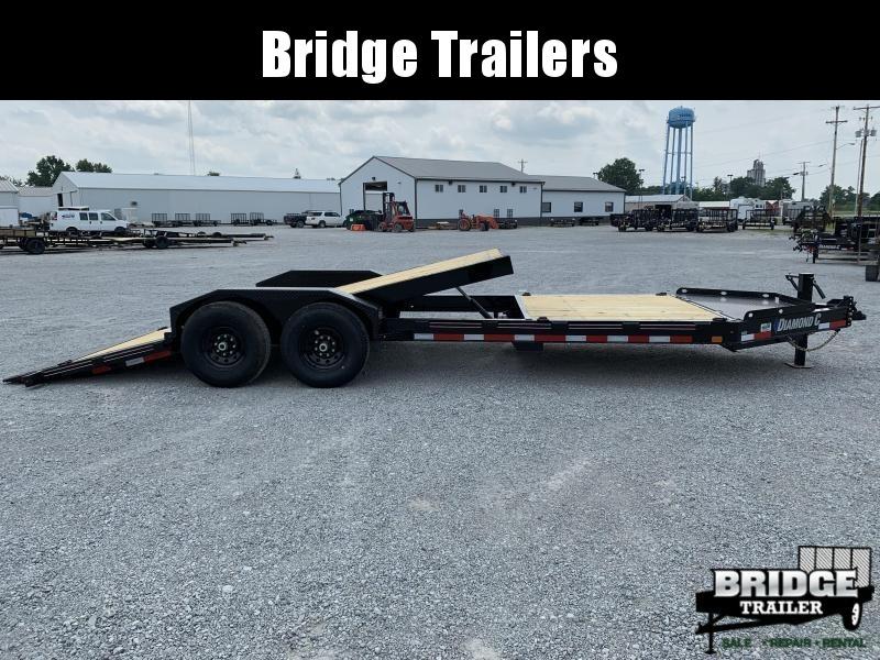 "2021 Diamond C Trailers HDT207L22X82 (22' X 82"") Equipment Trailer"