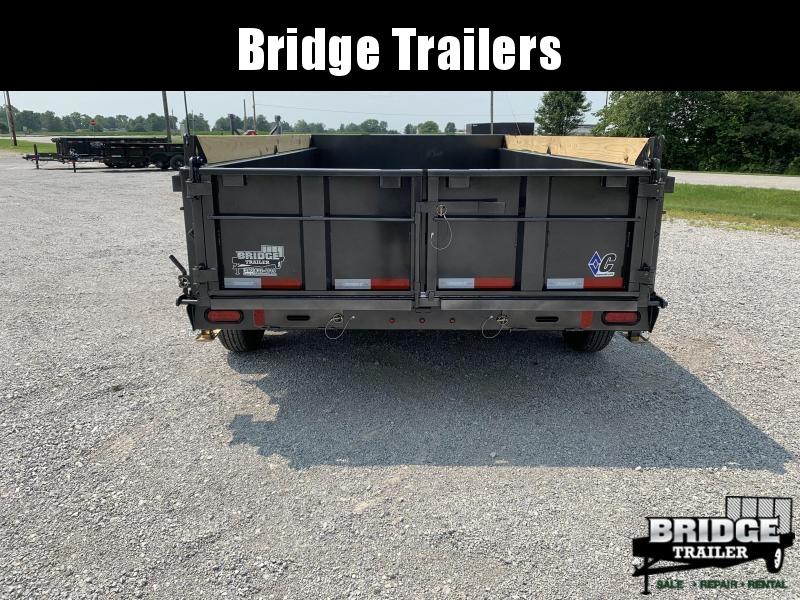 "2021 Diamond C Trailers LPD207L14X82 (14' X 82"") Dump Trailer"