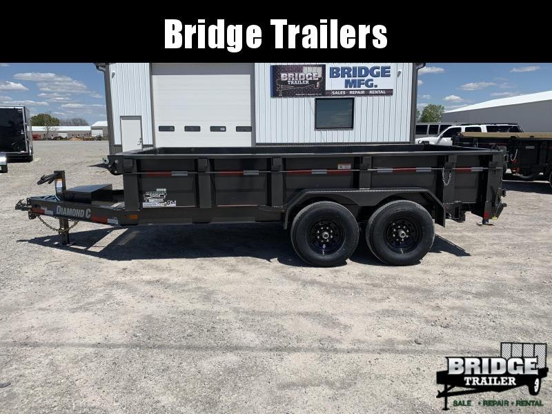 "2022 Diamond C Trailers LPD207 14' X 82"" Dump Trailer"