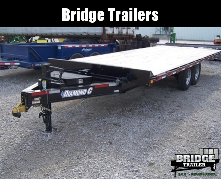 2018 Diamond C Trailers DET207L22X102 Equipment Trailer