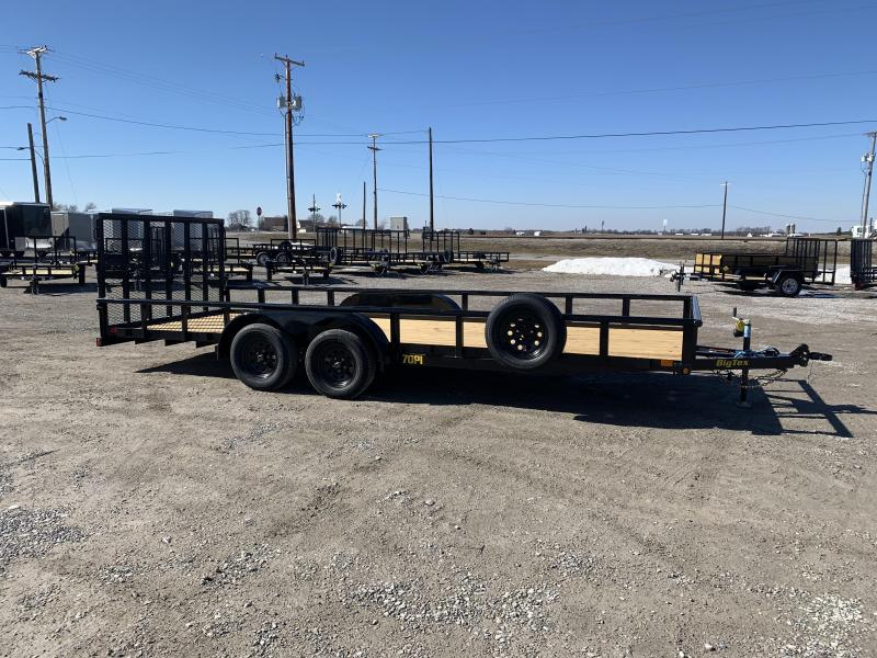 2022 Big Tex Trailers 70PI-20XBK4RG2B Utility Trailer