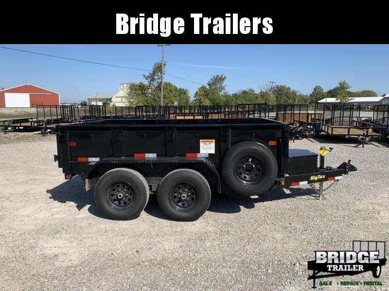 "2019 Big Tex Trailers 90SR-10 (72"" X 10') Dump Trailer"