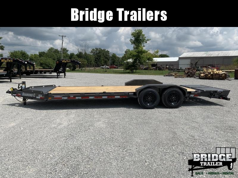 "2021 Diamond C Trailers LPX207L22X82 (22' X 82"") Equipment Trailer"