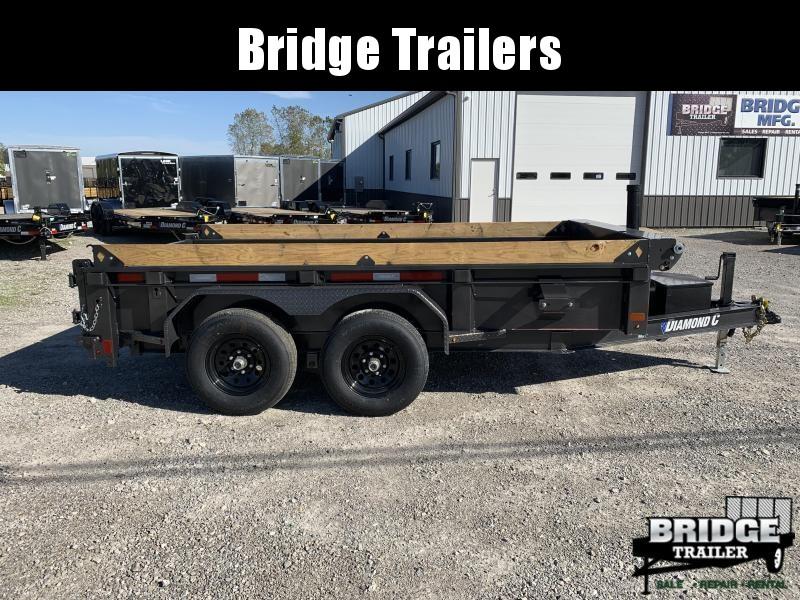 "2022 Diamond C Trailers MDT206L12X77 (77"" X 12') Dump Trailer"