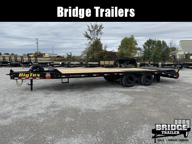 "2022 Big Tex Trailers 22PH-20BK+5MR (102"" X 25') Equipment Trailer"