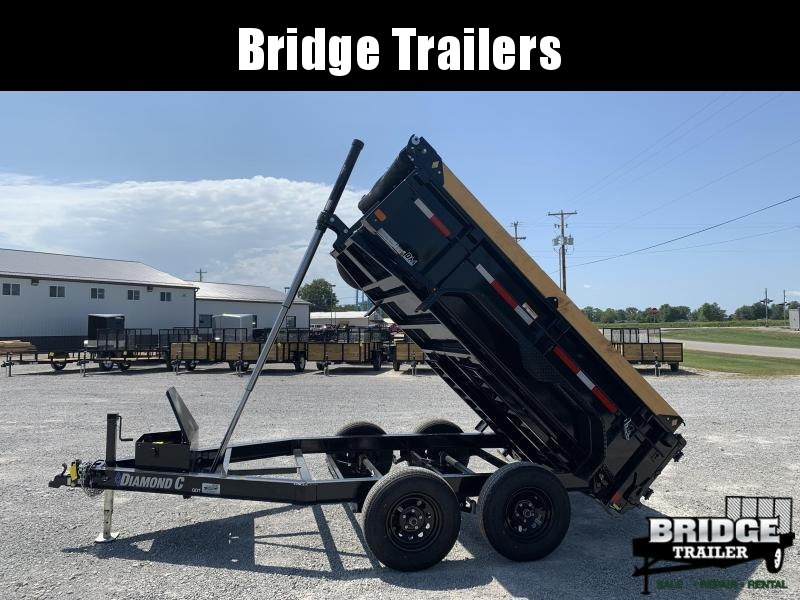 "2021 Diamond C Trailers GDT235L10X77 (77"" X 10') Dump Trailer"