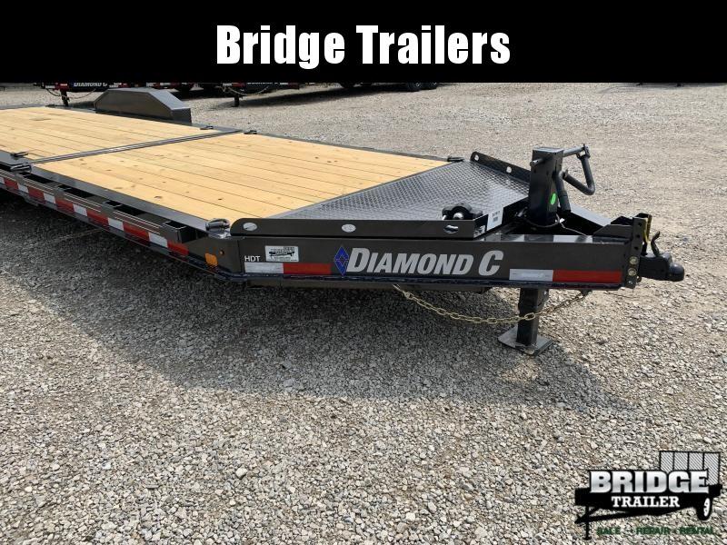 "2022 Diamond C Trailers HDT207L24X82 (24' X 82"") Equipment Trailer"