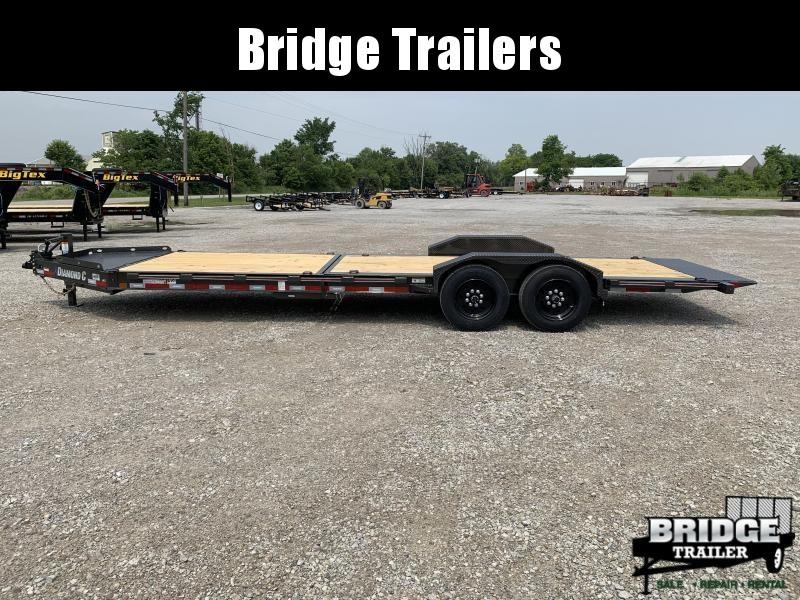 "2021 Diamond C Trailers HDT207L24X82 (24' X 82"") Equipment Trailer"