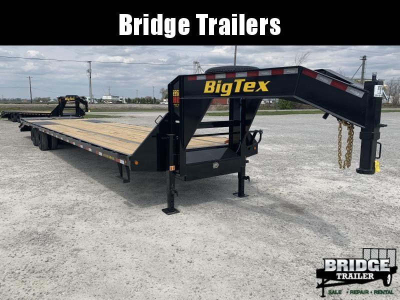 2021 Big Tex Trailers 22GN-30BK+5MR Equipment Trailer