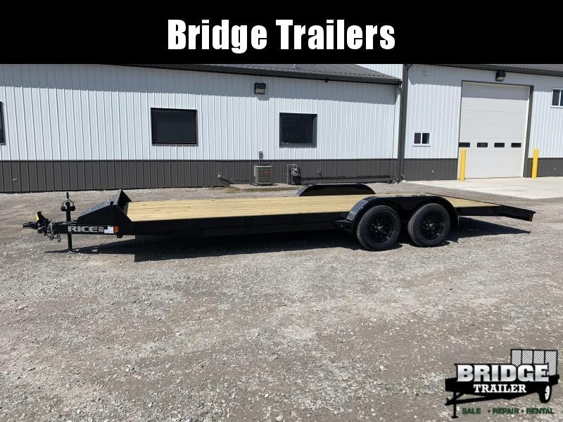 """2021 Rice Trailers 7k Magnum Car Haulers (82"""" X 22') Car / Racing Trailer"""