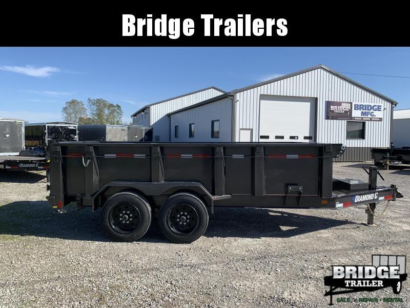 "2022 Diamond C Trailers LPD207L14X82 (82"" X 14') Dump Trailer"