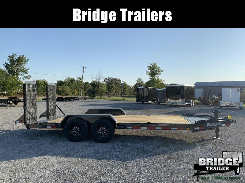 "2022 Diamond C Trailers LPX207L18X82 (82"" X 18') Equipment Trailer"
