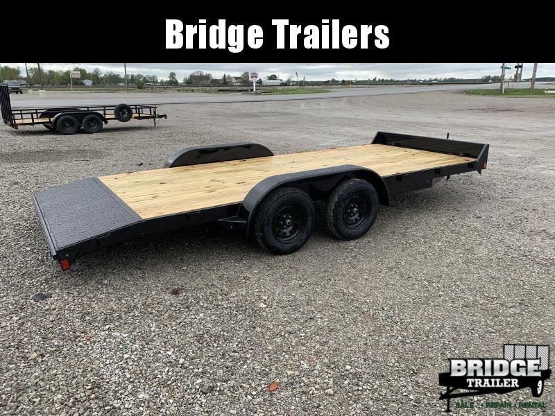 2021 Rice Trailers 7K R-Series Car Haulers 20' (18' + 2') Car / Racing Trailer