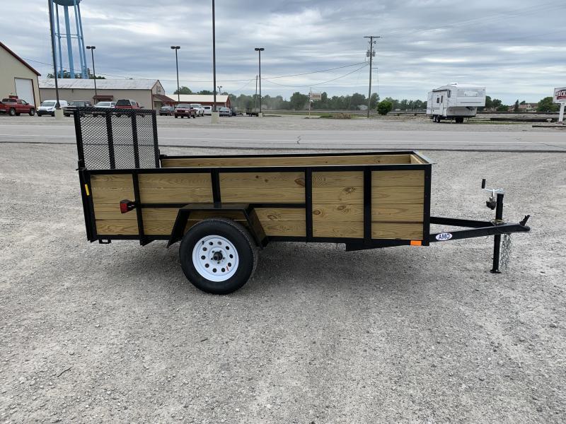 2021 AMO A9510WG - 60 x 10 Wood Side with Gate Utility Trailer