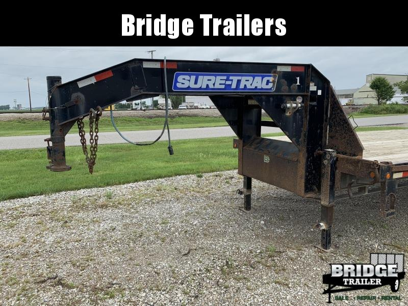 2015 Sure-Trac ST102355LPDO2A-GN-225 (35' + 5') Flatbed Trailer