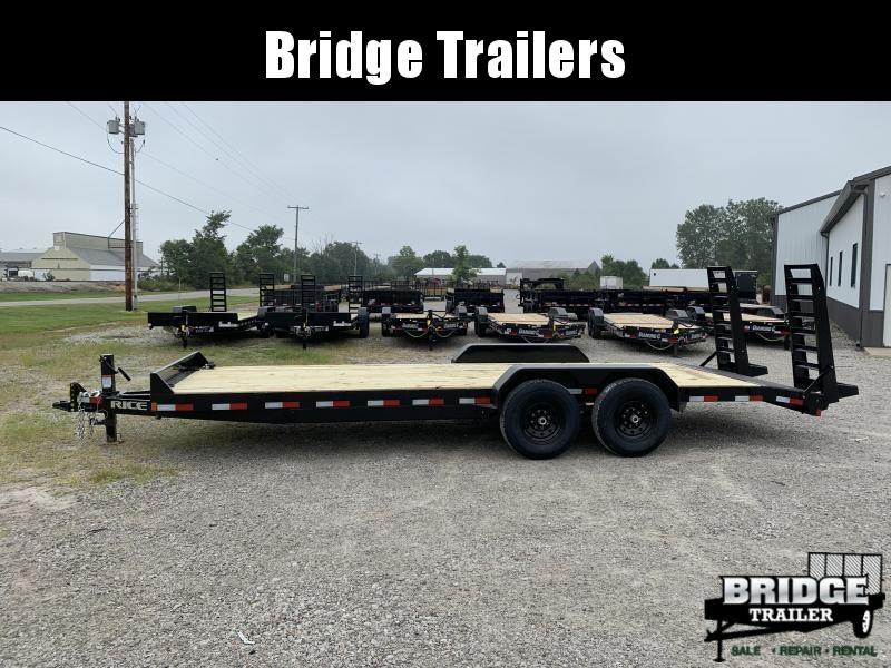 "2021 Rice Trailers 14K Magnum 82"" X 22' Equipment Trailers Equipment Trailer"