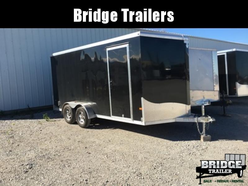 2018 NEO Trailers NAV167TR Round Top Cargo Enclosed Cargo Trailer