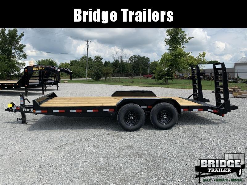 "2021 Rice Trailers 14K Magnum 82"" X 18' Equipment Trailers Equipment Trailer"
