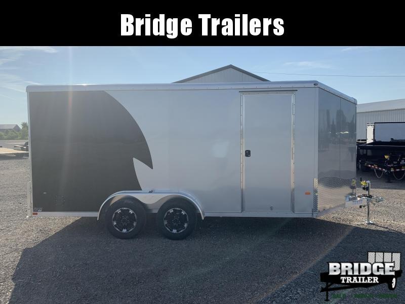 2022 NEO Trailers NAM1675TR (7.5' x 16') Round Top / Slant Motorcycle Trailer Motorcycle Trailer